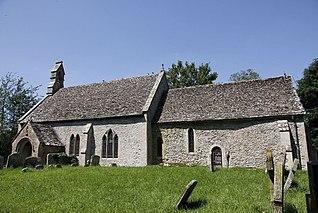 Eaton Hastings Village near Faringdon, England