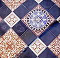 St Silas, Bollingham - Tiles - geograph.org.uk - 984330.jpg