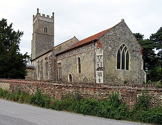 Foxley village in the United Kingdom