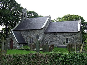 St Tyfrydog's Church, Llandyfrydog - Image: St Tyfrydog Church in Llandyfrydog geograph.org.uk 193473