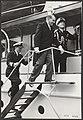 Staatsbezoek van de Franse president Coty aan Nederland. Rondvaart door de Rotte, Bestanddeelnr 079-0566.jpg