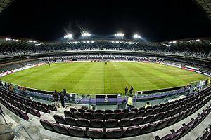 Constant Vanden Stock Stadium - Image: Stade Constant Vanden Stock