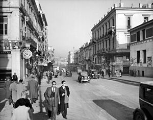 Stadiou Street - Stadiou Street in the late 1930s