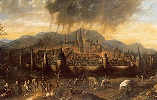 City fire of Aachen