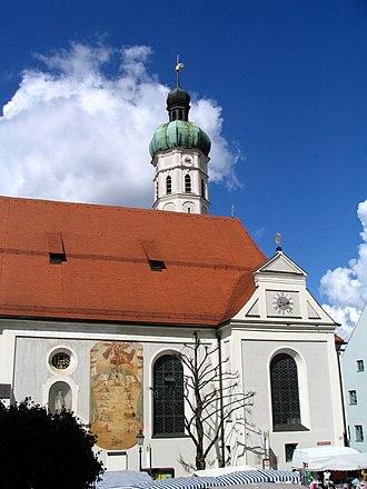 Dachau - Dachau: Church of St Jakob