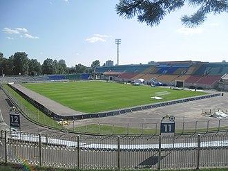Traktor Stadium - Image: Stadyjon Traktar 1.26 07.2014