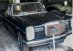 Ziaur Rahman - Mercedes Benz used by Ziaur Rahman when he was the President of Bangladesh.