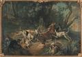 Stag Hunt (Jean-Baptiste Oudry) - Nationalmuseum - 17870.tif