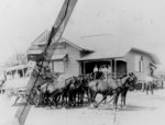 Stagecoach outside the post and telegraph office in Cloncurry, ca. 1910.tif