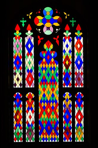 Old Louisiana State Capitol - Stained glass window