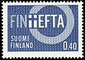 Stamp 1967 - FINEFTA - Finland as an external member of EFTA.jpg