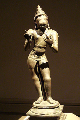 Depiction of Hanuman Chola Dynasty, 11th Century