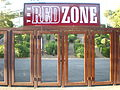 Stanford Stadium Red Zone gate.JPG
