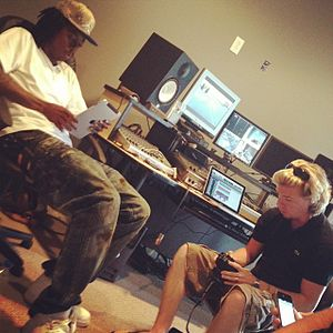 Starlito - Image: Starlito and Coop take off on em in studio