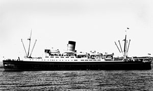 Union Company - Steamer Express TEV Hinemoa, built in England in 1946 and scrapped in Hong Kong in 1971