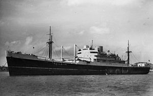 MV Empire Abercorn - Image: State Lib Qld 1 70623 Rakaia (Ship)