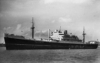 MV Empire Abercorn - Image: State Lib Qld 1 70623 Rakaia (Ship)