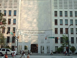 Federal Reserve Bank of Atlanta - The old Federal Reserve Bank of Atlanta building, now the State Bar of Georgia. Located at 104 Marietta Street NW