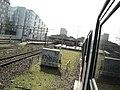 Station Den Haag HS seen from an arriving train.jpg