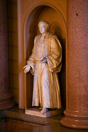 George Gammon Adams - Hugh M'Neile's statue in St Georges Hall, Liverpool