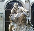 Statue of Beethoven (courtyard of San Pietro a Maiella, Naples).jpg