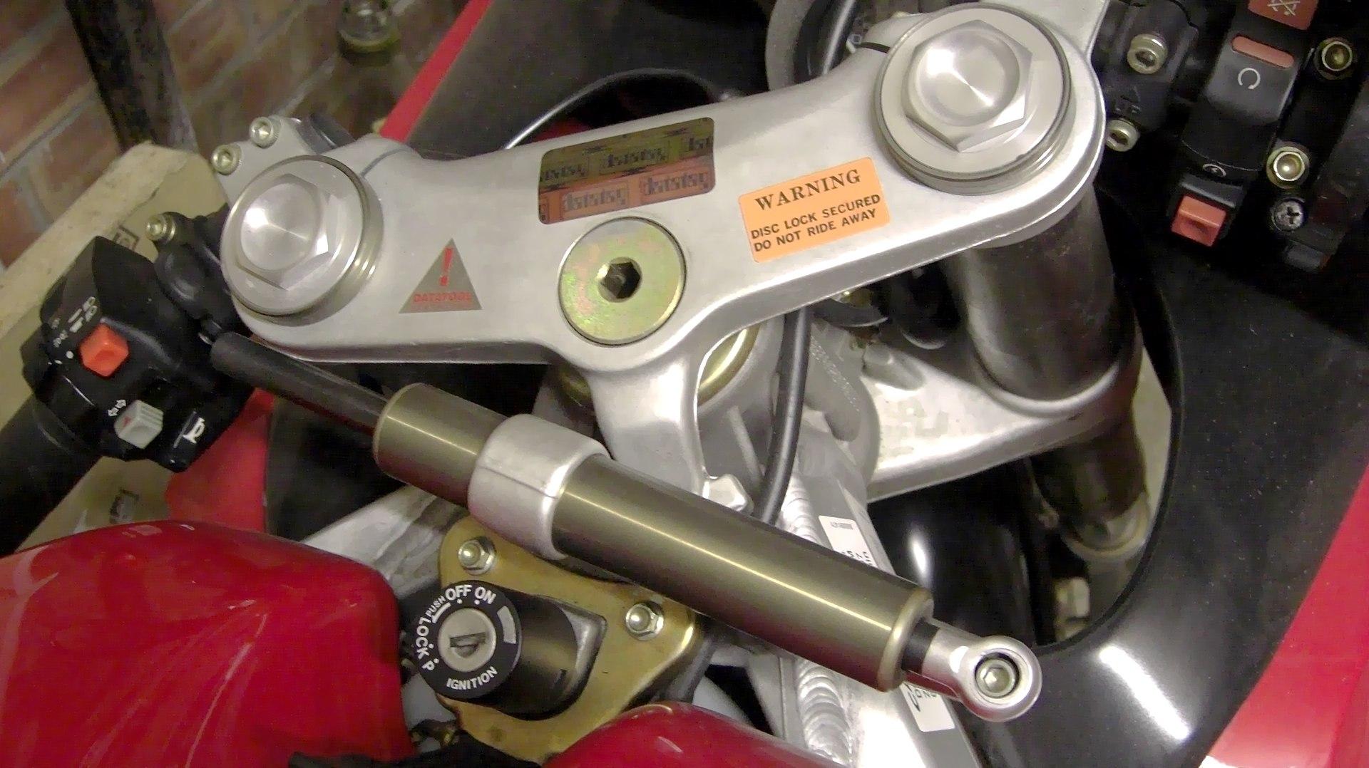 Ktm Honda Steering Damper