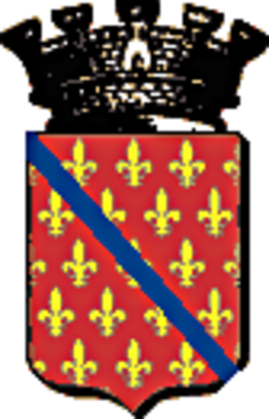 François de Candie - Arms of Candia family