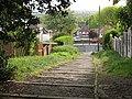 Steps down to Castlewood Drive, Eltham - geograph.org.uk - 1297321.jpg