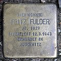 Stolperstein Bochumer Str 25 (Moabi) Fritz Fulder.jpg