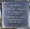 Stolperstein Genthiner Str 46 (Tierg) Henriette Fischer.jpg
