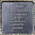 Stolperstein Mendelssohnstr 5 (Prenz) Hedwig Selbiger.jpg