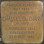 Stolperstein Munich Emanuel Gutmann.jpg