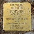 Stolperstein Platanenallee 8 (Westend) Adelheid Nathanson.jpg
