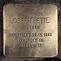 Stolperstein Westfälische Str 37 (Halsee) Joseph Bette.jpg