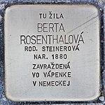 Stolperstein für Berta Rosenthalova (Prievidza).jpg
