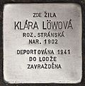 Stolperstein für Klara Löwova.jpg