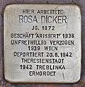 Stolperstein für Rosa Dicker - Albrechtgasse (Graz).jpg
