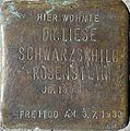 Stolpersteine Köln, Dr. Liese Schwarzschild-Rosenstein (Kreuzgasse 21).jpg