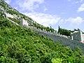 Ston, hradby mesta zalozene Dubrovnicany v 12. stol.jpg