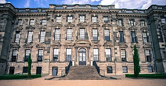 Stoneleigh Abbey - The facade of the West Wing