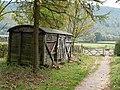 Storage shed near Huthwaite Green - geograph.org.uk - 594722.jpg