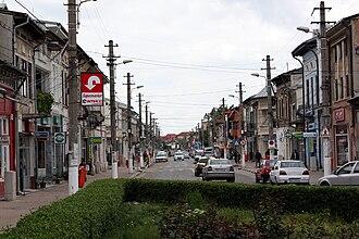 Giurgiu - Old town street