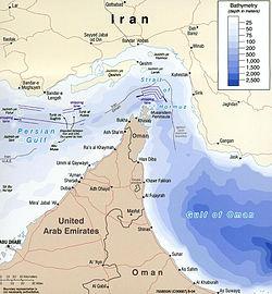 Middle East Map Strait Of Hormuz.Strait Of Hormuz Wikipedia