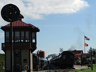 Strasburg Rail Road - Strasburg Railroad Station, Oct 2010