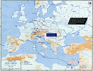 Napoleonic era - Strategic Situation of Europe 1798