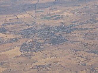Strathalbyn, South Australia - Aerial photograph of Strathalbyn, looking south.
