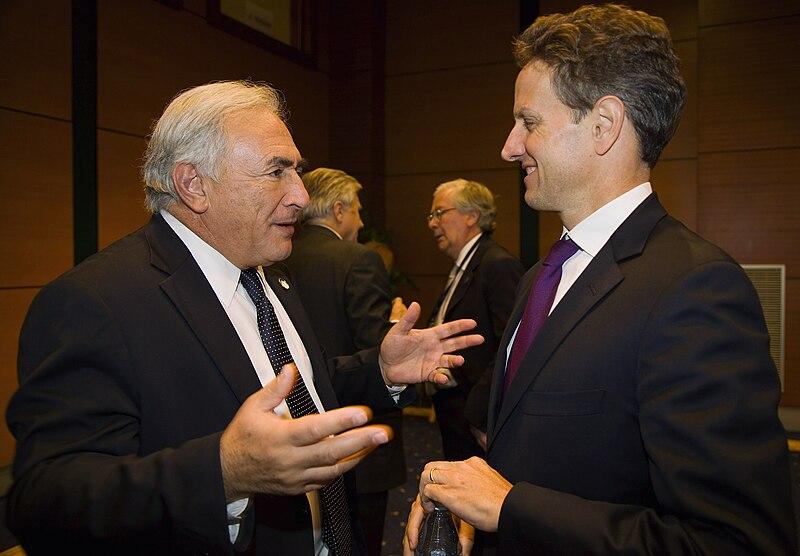 File:Strauss-Kahn, Geithner (IMF 2009).jpg