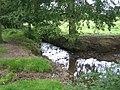 Stream running through Twyford Hall park - geograph.org.uk - 557836.jpg