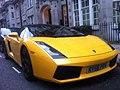Streetcarl Lamborghini gallardo spyder 560-4 yellow (6200987744).jpg