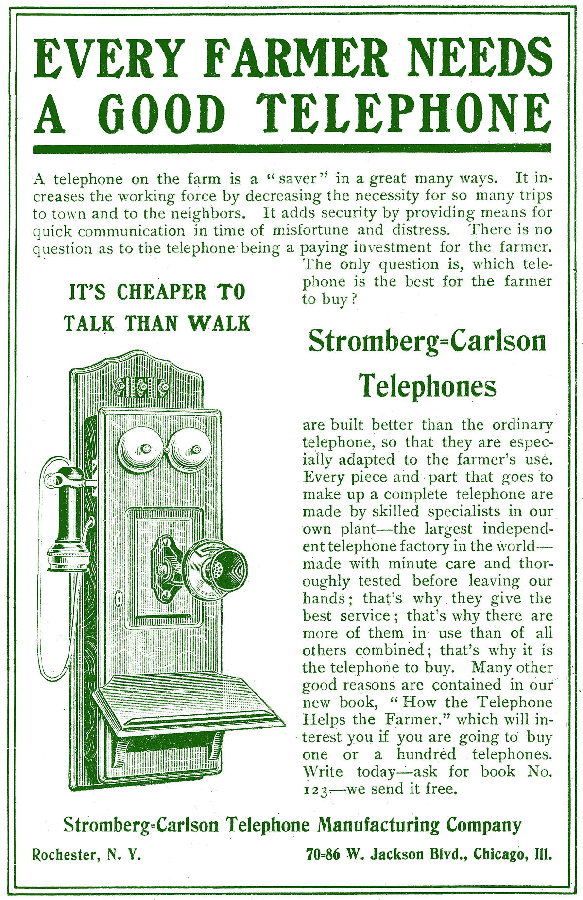 Stromberg-Carlson Telephone Manufacturing Co. Advertisement 1905.JPG